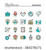 business  entrepreneurship ... | Shutterstock .eps vector #383278171