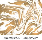 vector ink texture. hand drawn... | Shutterstock .eps vector #383309989