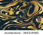 vector ink texture. hand drawn... | Shutterstock .eps vector #383319085
