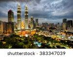 Top View Of Kuala Lumpur...