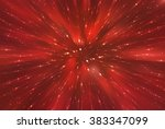 abstract red background.... | Shutterstock . vector #383347099