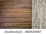 Fishing Net On Old Wooden Board ...