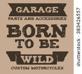 vintage quote grunge style | Shutterstock .eps vector #383426557