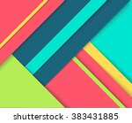 abstract background with... | Shutterstock .eps vector #383431885