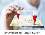 business  technology ... | Shutterstock . vector #383456794