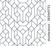 line geometric seamless pattern ... | Shutterstock .eps vector #383469751