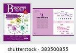 Design newspaper template | Shutterstock vector #383500855