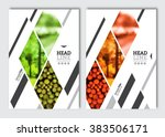 business brochure design... | Shutterstock .eps vector #383506171