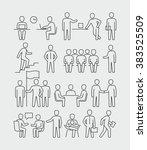 office people  | Shutterstock .eps vector #383525509
