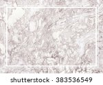 abstract background  ink marble ... | Shutterstock . vector #383536549