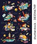 cartoon vector illustration of...   Shutterstock .eps vector #383546749