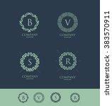 vector company logo icon...   Shutterstock .eps vector #383570911