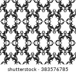abstract geometric floral... | Shutterstock .eps vector #383576785