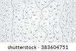 Raindrops On The Window. Vecto...