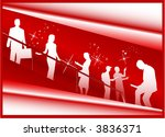 business work people | Shutterstock .eps vector #3836371