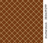 chocolate seamless diagonal... | Shutterstock .eps vector #383639299