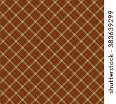 chocolate seamless diagonal... | Shutterstock .eps vector #383639299