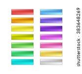 vector web buttons set | Shutterstock .eps vector #383648269