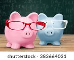 piggy bank. | Shutterstock . vector #383664031