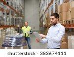 wholesale  logistic  business ...   Shutterstock . vector #383674111