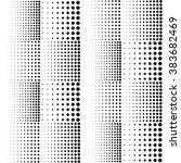 abstract halftone vector... | Shutterstock .eps vector #383682469