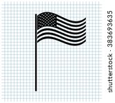 Usa Flag Vector Icon