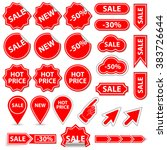 sale banner and elements | Shutterstock . vector #383726644