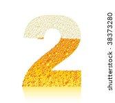 vector beer number | Shutterstock .eps vector #38373280