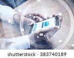 close up of generic design...   Shutterstock . vector #383740189