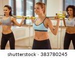 Three Attractive Sport Girls...