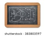 business and sports game plan... | Shutterstock . vector #383803597