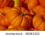 Pile Of Pumpkins For Background