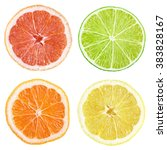 Slices Of Grapefruit  Lime ...