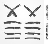 Collection Of Army Knives  Lin...