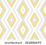 seamless abstract geometric... | Shutterstock .eps vector #383888695