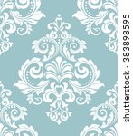 wallpaper in the style of... | Shutterstock .eps vector #383898595