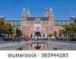 amsterdam  the netherlands  ...   Shutterstock . vector #383944285