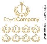 royal logo   Shutterstock .eps vector #383987311