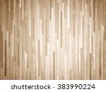 hardwood maple basketball court ... | Shutterstock . vector #383990224