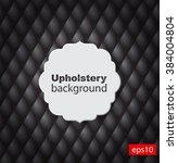 upholstery tufted leather...   Shutterstock .eps vector #384004804