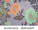 the beautiful of art malaysian... | Shutterstock . vector #384016849
