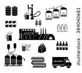 brewery infographics   beer... | Shutterstock .eps vector #384040681