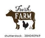 Vector Image Of Farm Animal An...