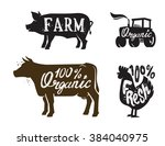 Vector Image Of Farm Animal An...
