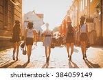 walk | Shutterstock . vector #384059149