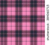 plaid  tartan  seamless pattern.... | Shutterstock .eps vector #384060715