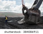 Coal Trucks And Loaders Are...
