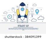 startup  teamwork and...   Shutterstock .eps vector #384091399