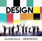 design drawing outline planning ... | Shutterstock . vector #384096901