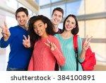 achievement. | Shutterstock . vector #384100891